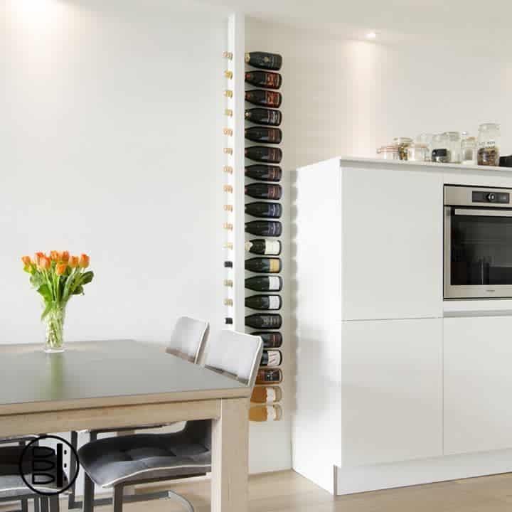 Kitchen Wine Rack Ideas -wijnpaal