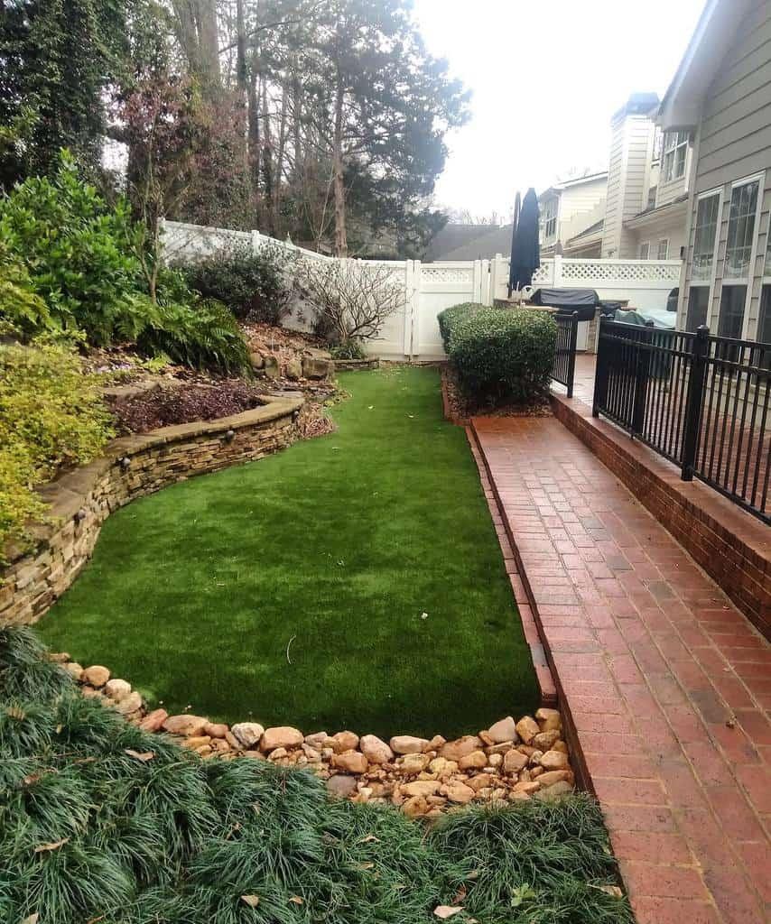 Landscape Side Yard Ideas -artificialturfsupply