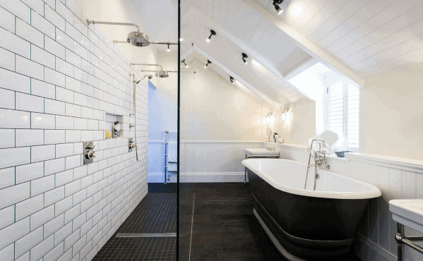 Large Doorless Walk In Shower Ideas 4