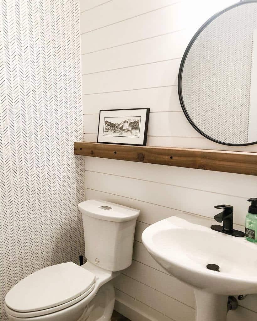 Ledge Over The Toilet Storage Ideas -asteririsinteriors