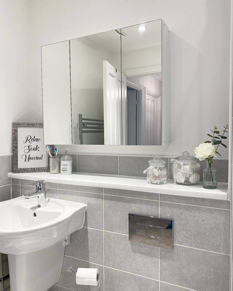 Ledge Over The Toilet Storage Ideas -myvalerianhome