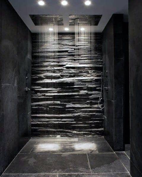 Luxury Doorless Walk In Shower Ideas 1