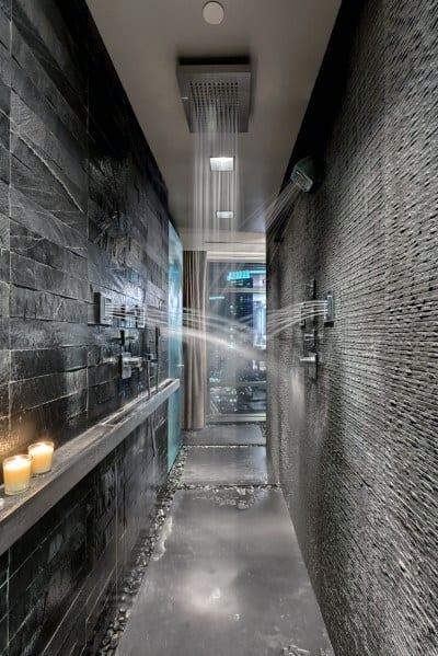 Luxury Doorless Walk In Shower Ideas 5