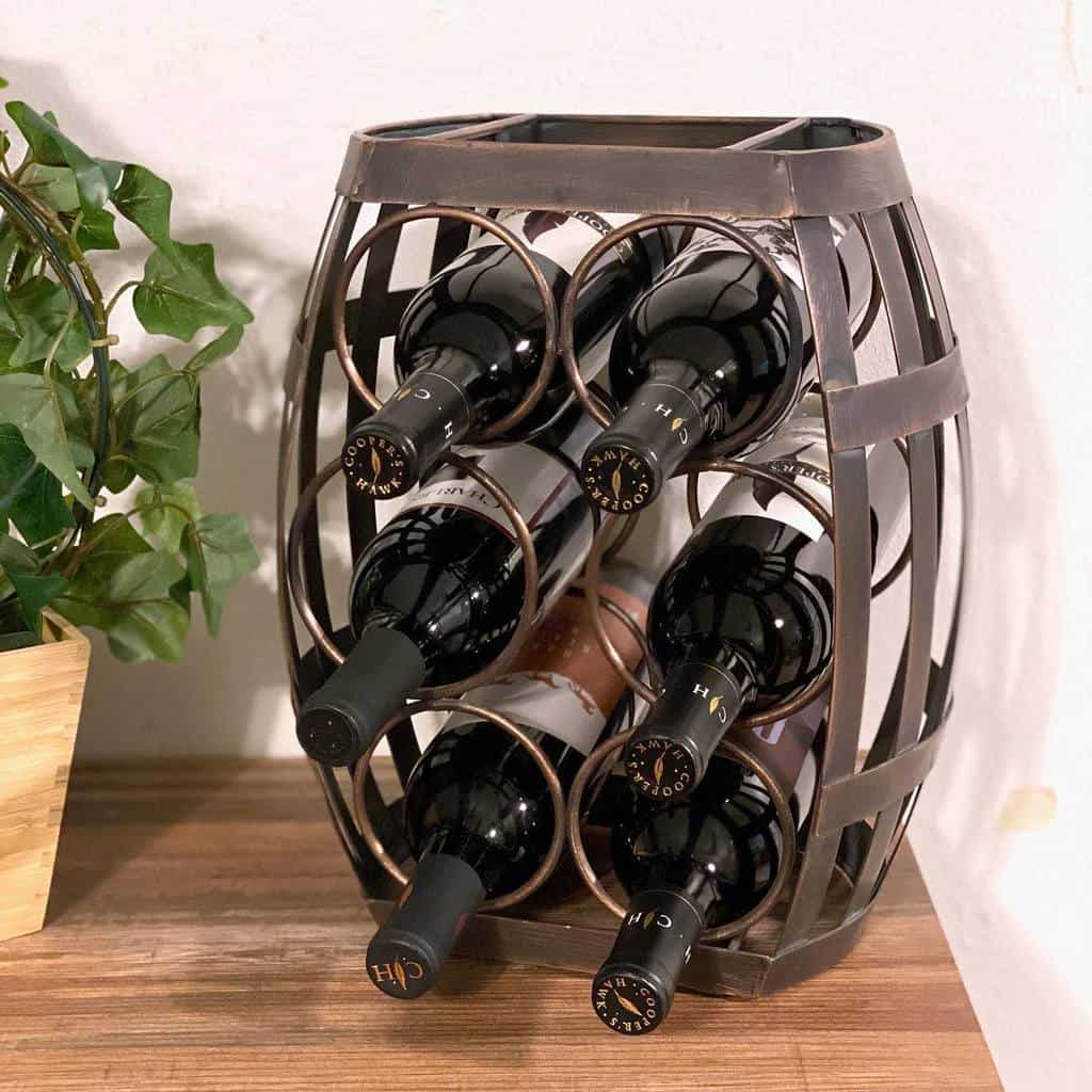 Metal Wine Rack Ideas -justjenni07