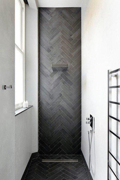Modern Doorless Walk In Shower Ideas 3