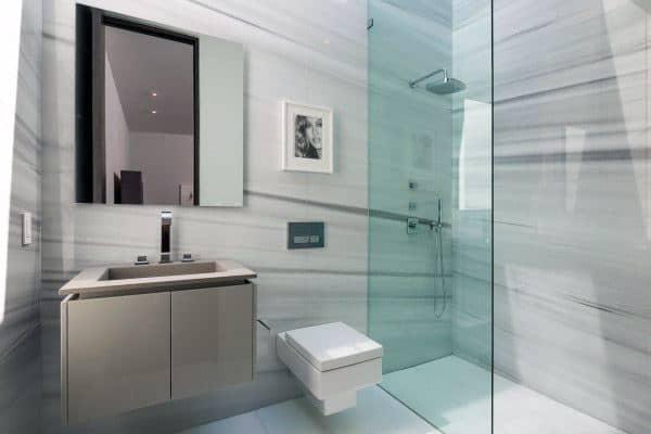 Modern Doorless Walk In Shower Ideas 4