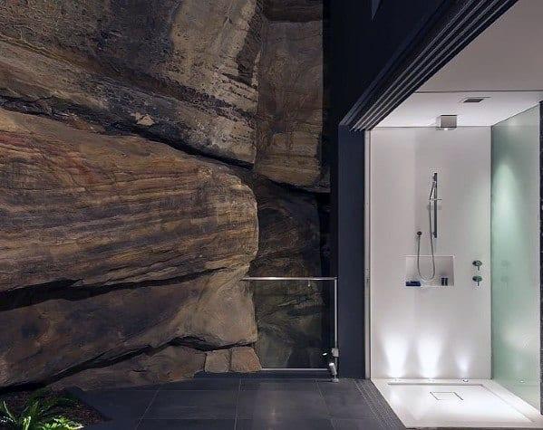 Modern Doorless Walk In Shower Ideas 5