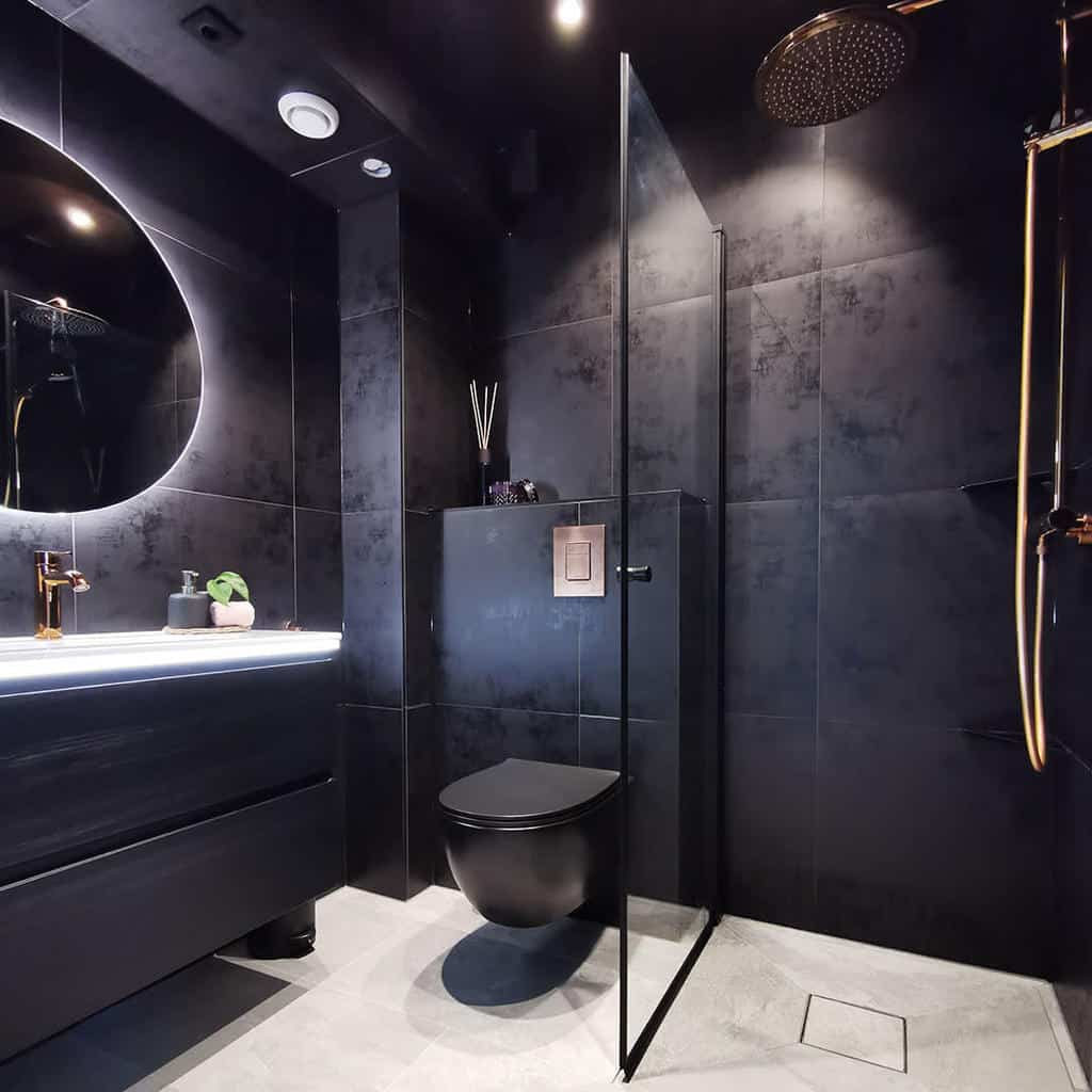 Modern Doorless Walk In Shower Ideas -grohekz
