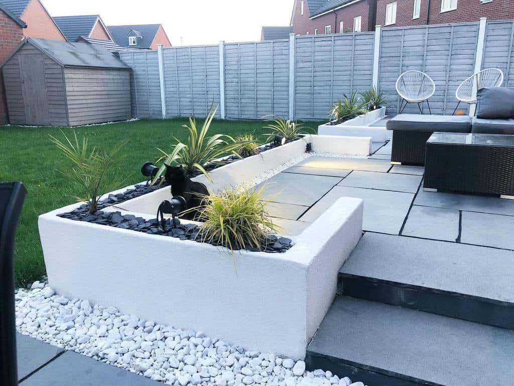 Modern Landscape Hardscaping Ideas -the_white_house18