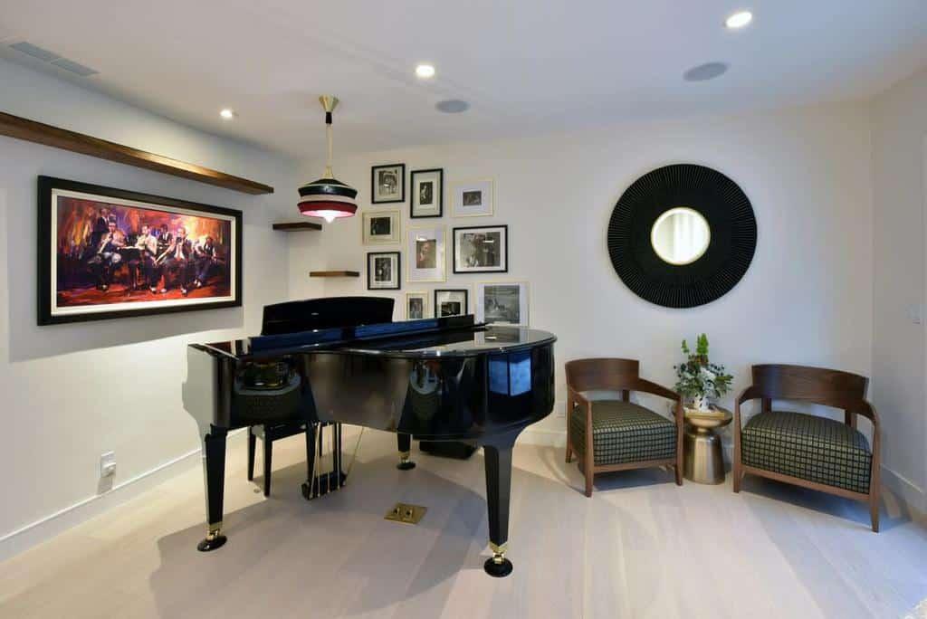 Modern Music Room Ideas -kcinteriordesigner