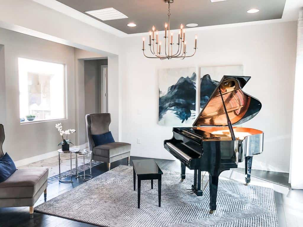 Modern Music Room Ideas -thethomasgrouplv