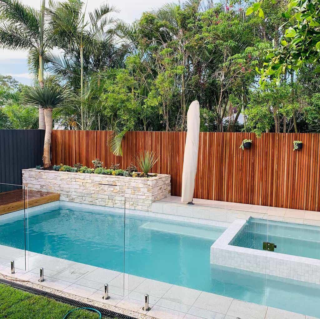 Modern Small Pool Ideas -terraformlandscaping