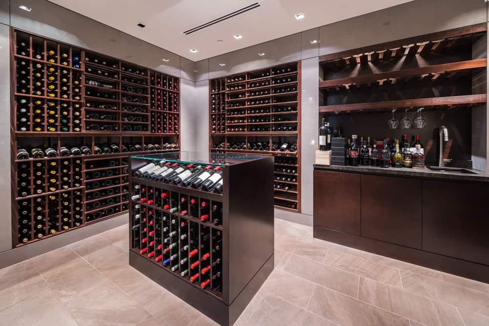 A,Modern,Design,Wine,Cellar