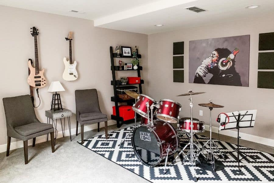 The Top 80 Music Room Ideas