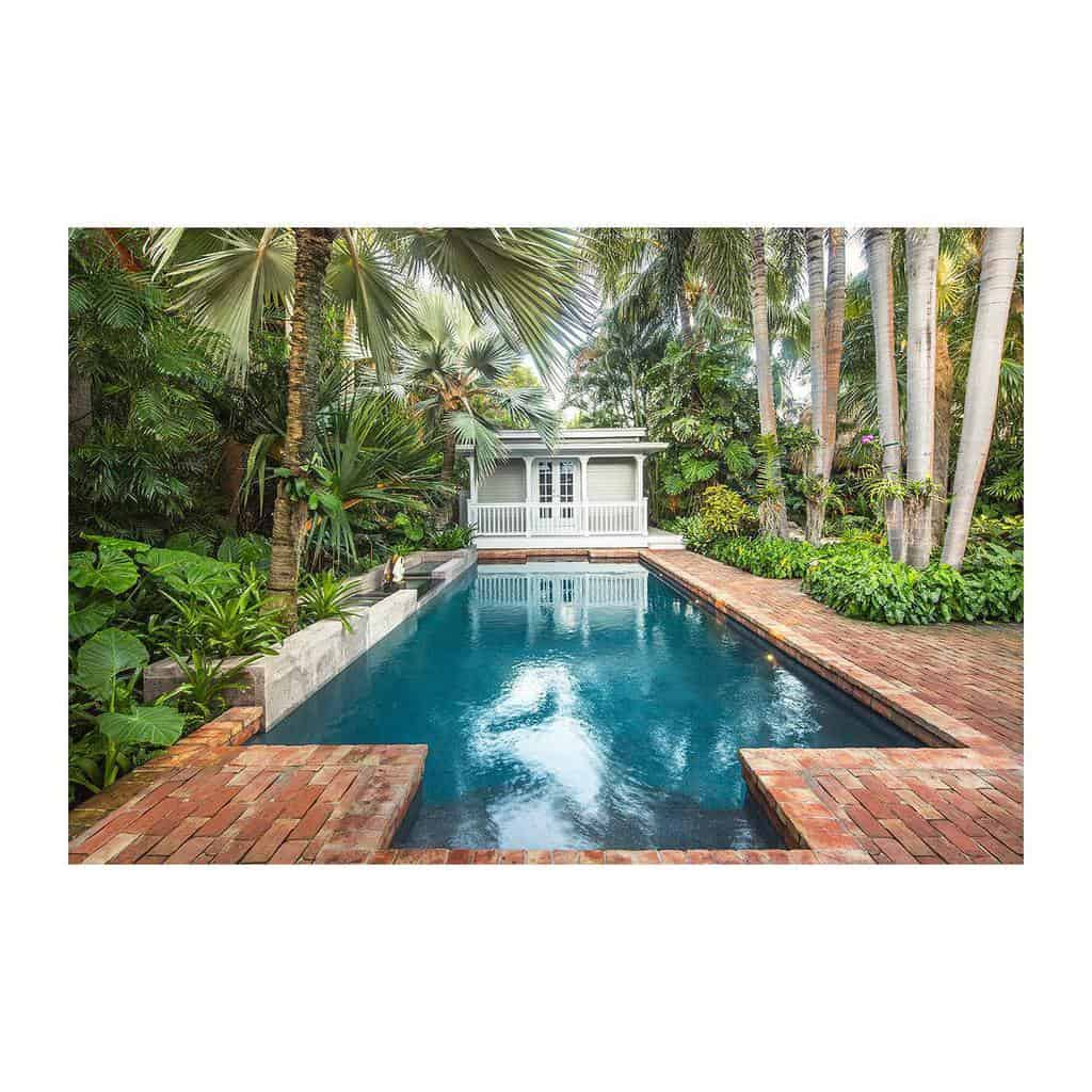 Narrow Small Pool Ideas -tamaraalvarezphotography