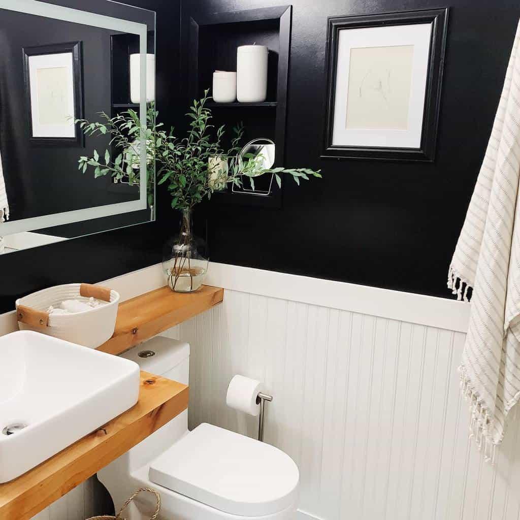 Niche Over The Toilet Storage Ideas -70sranchreno