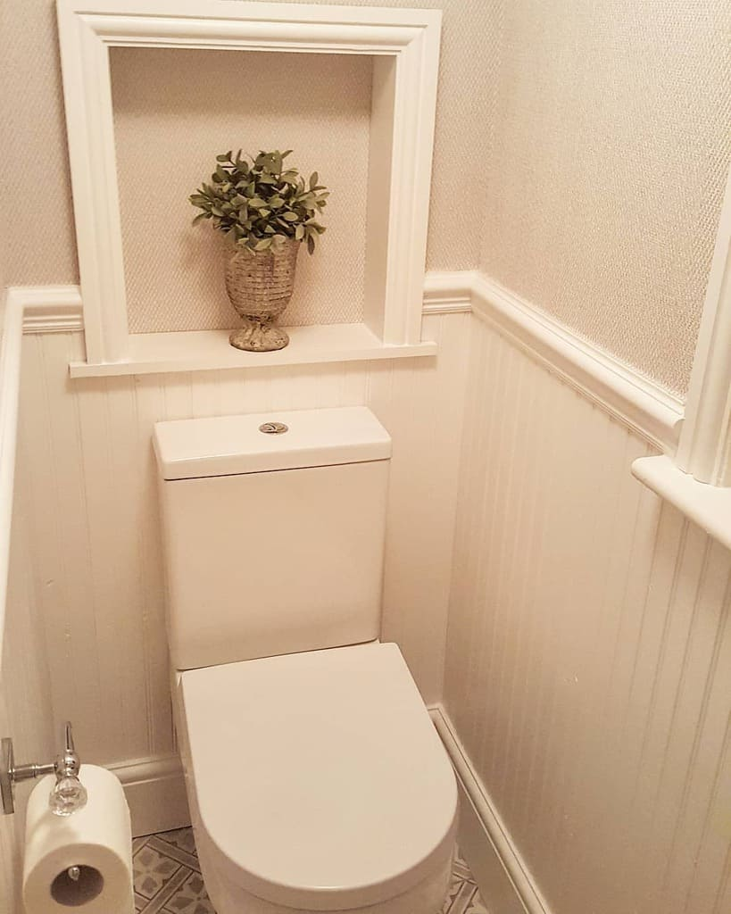 Niche Over The Toilet Storage Ideas -homedoover