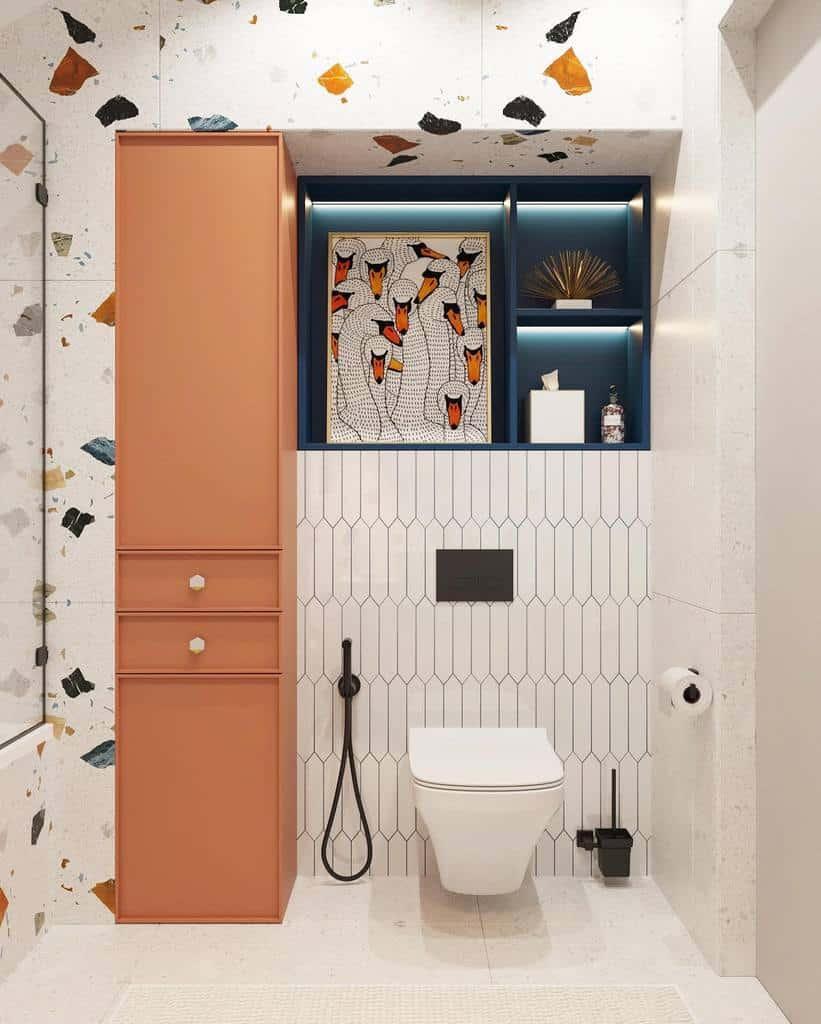 Niche Over The Toilet Storage Ideas -svershinina_design