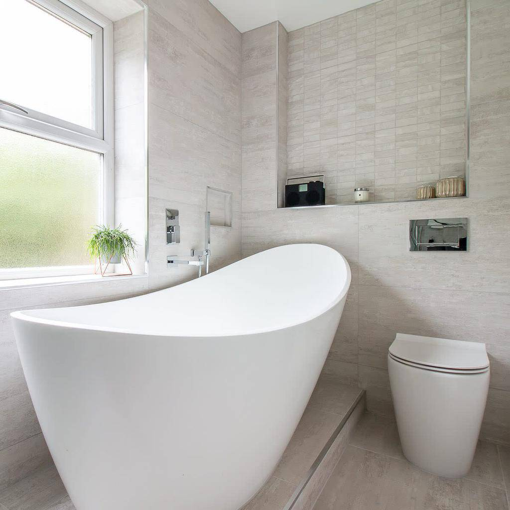 Niche Over The Toilet Storage Ideas -thebromleybathroomcompany