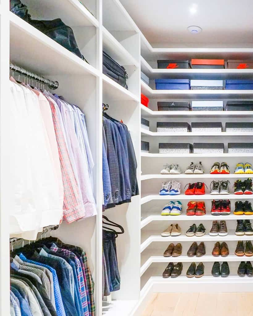 Open Clothes Storage Ideas 2 -horderly
