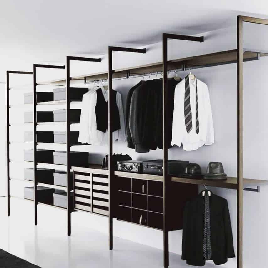 Open Clothes Storage Ideas -closetoasis