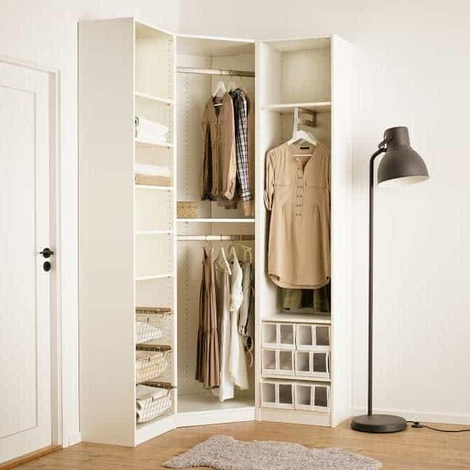 Open Clothes Storage Ideas -fabinterioindia