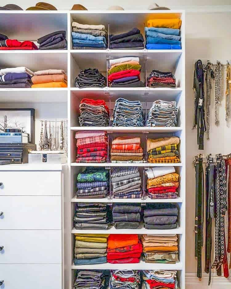 Open Clothes Storage Ideas -horderly