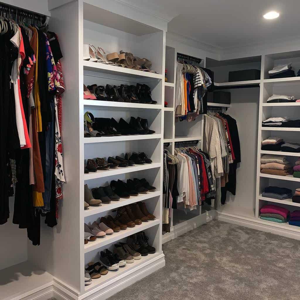 Open Clothes Storage Ideas -serenityathomedetroit