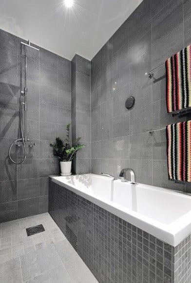 Open Concept Doorless Walk In Shower Ideas 1