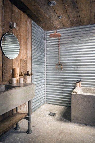 Open Concept Doorless Walk In Shower Ideas 2