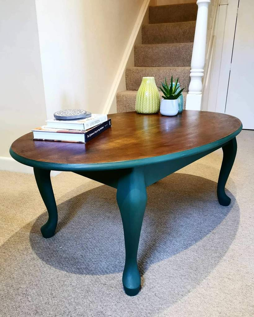 Painted Coffee Table Ideas -jhbyhand_