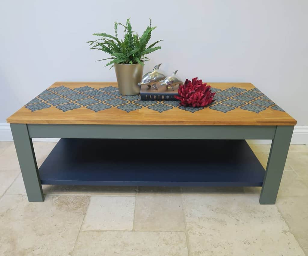 Painted Coffee Table Ideas -vintucy