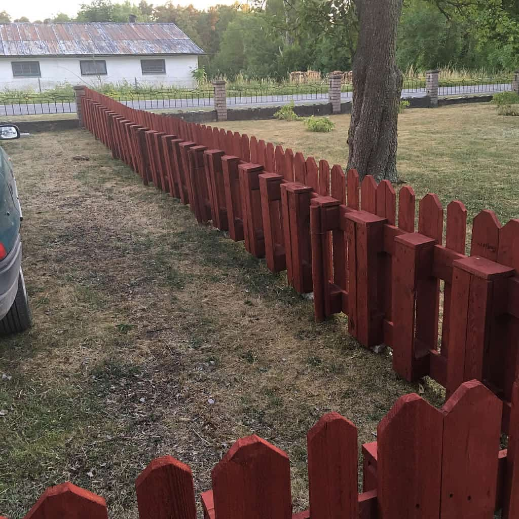 Painted Pallet Fence Ideas -sjeo80