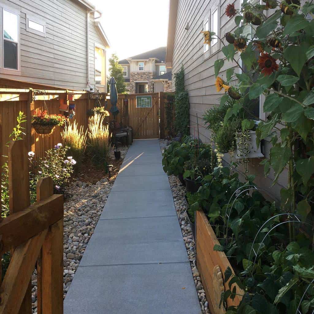 Path Side Yard Ideas -morelupinesplease