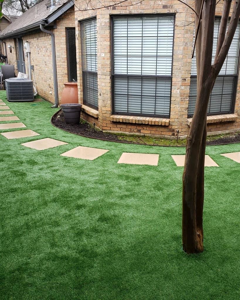 Path Side Yard Ideas -turfrocks