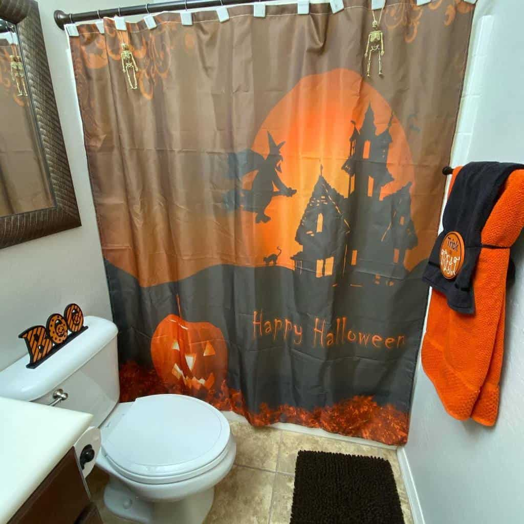 Personalized Shower Curtain Ideas -bells_ideas
