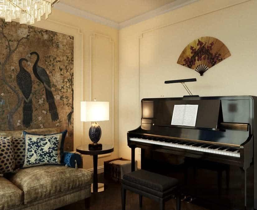 Piano Music Room Ideas -okko_design_studio
