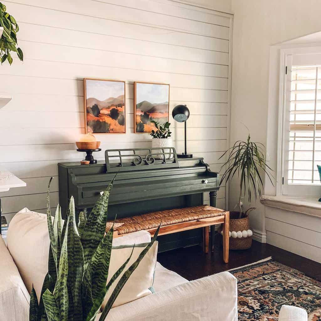 Piano Music Room Ideas -rachlivingwell