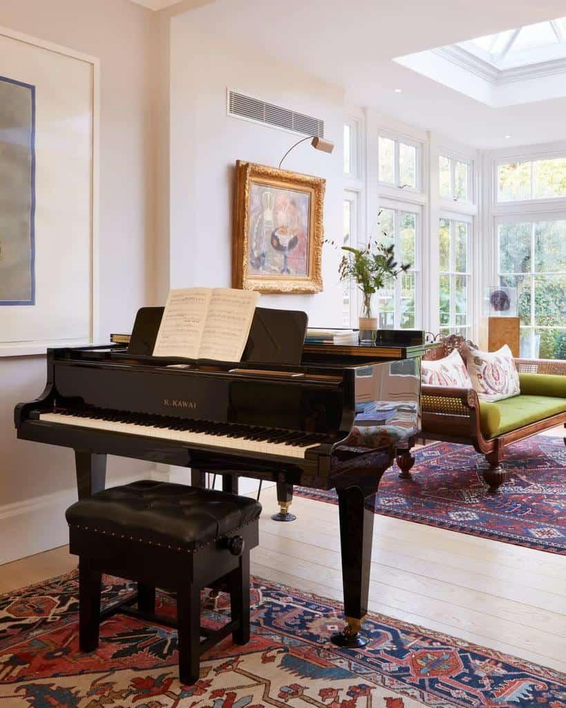 Piano Music Room Ideas -westburyuk