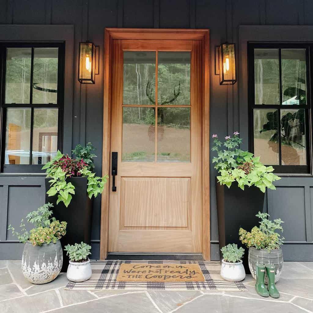 Plants Front Porch Decorating Ideas -cristincooper