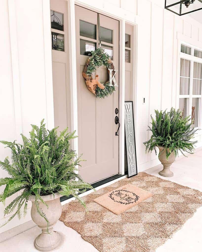 Plants Front Porch Decorating Ideas -southernsurroundings