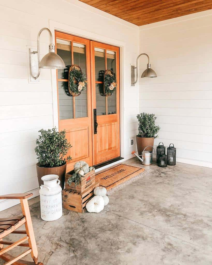 Plants Front Porch Decorating Ideas -the.tucker.farm