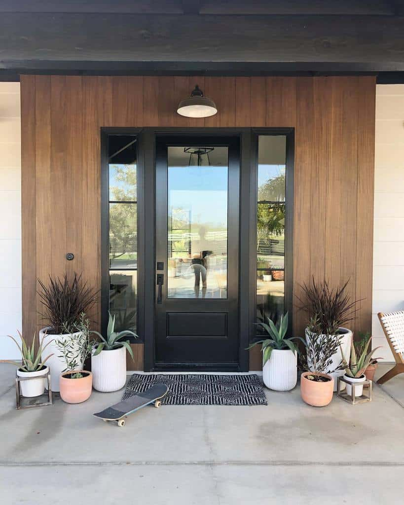 Plants Front Porch Decorating Ideas -thepleatedpoppy