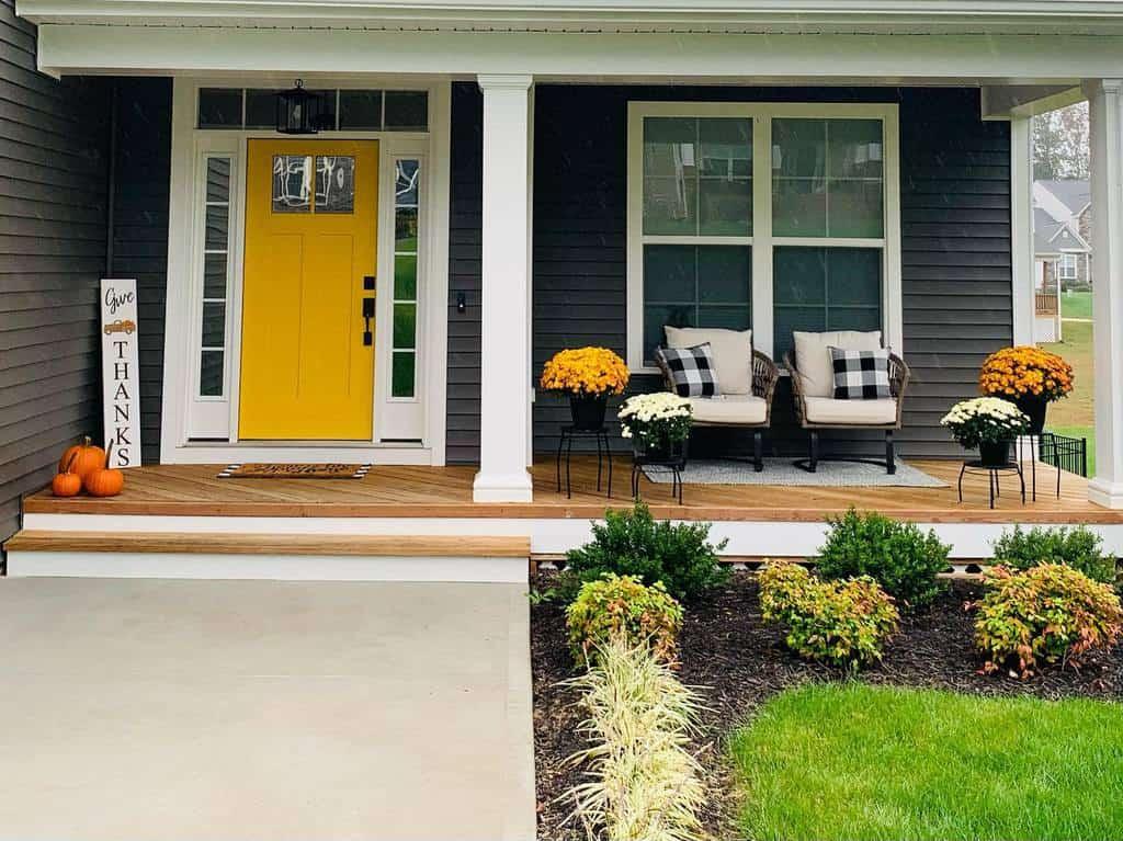 Plants Front Porch Decorating Ideas -tink_b3ll