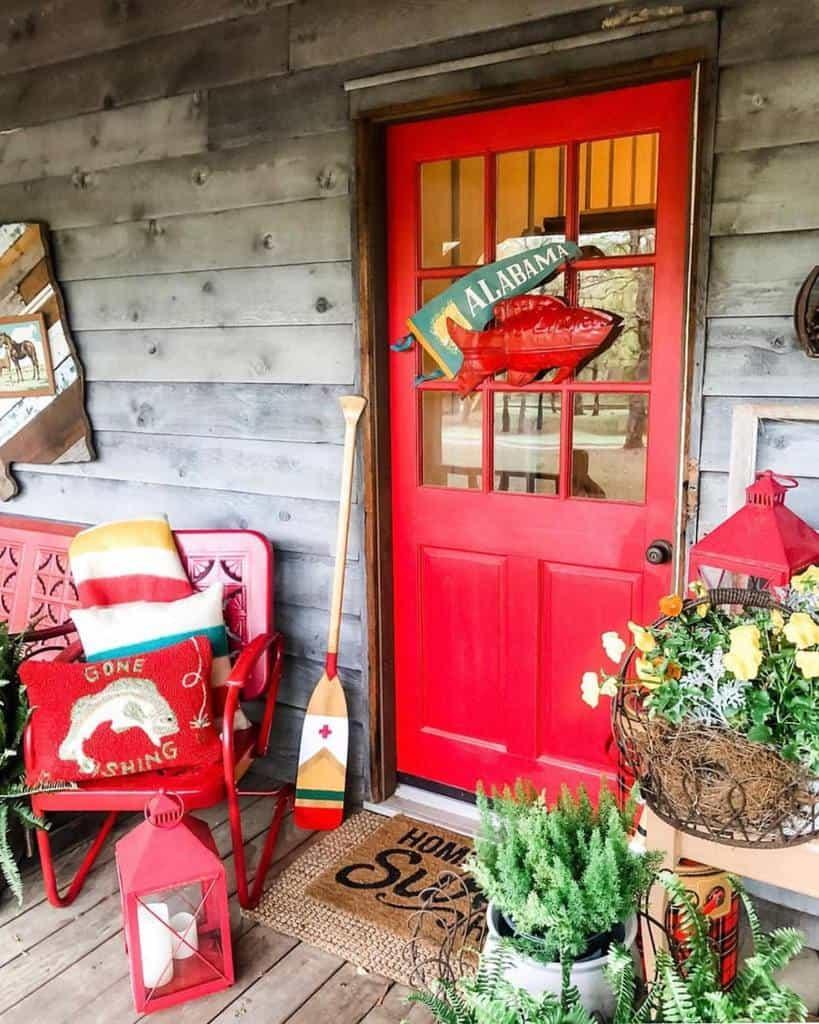 Red Front Door Ideas -campgilmore