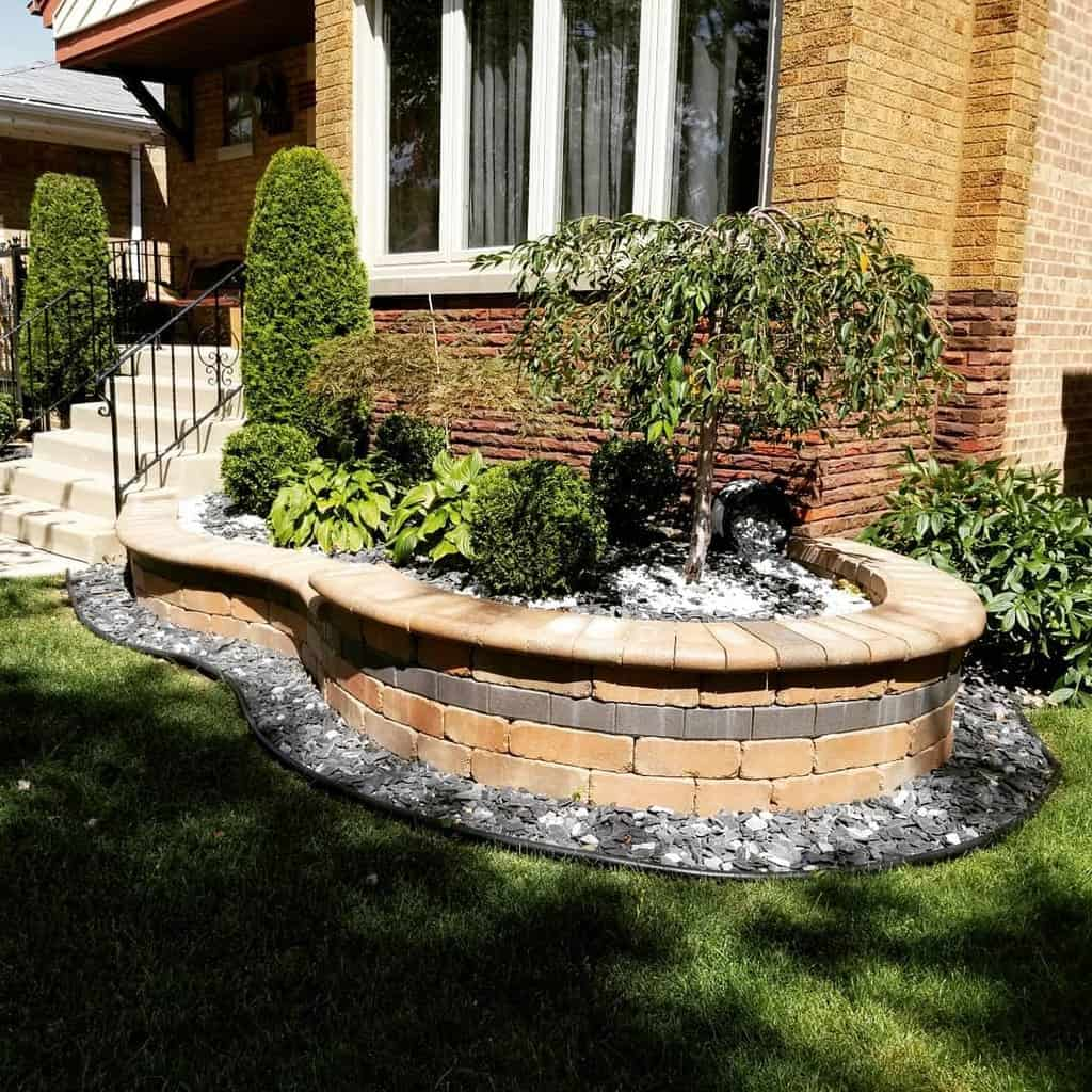 Retaining Wall and Garden Wall Hardscaping Ideas -cantellano_inc