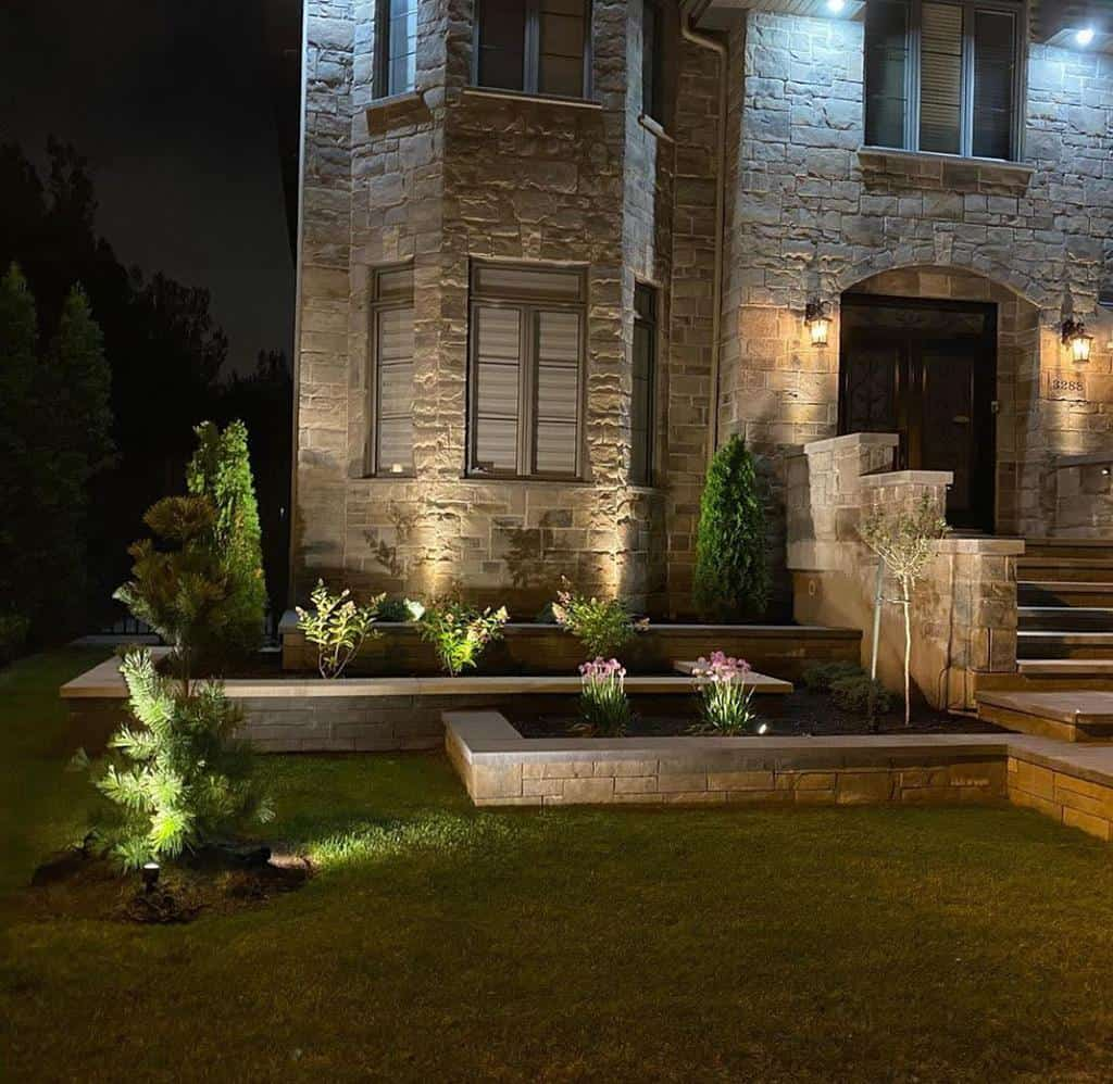 Retaining Wall and Garden Wall Hardscaping Ideas -inlitedesign
