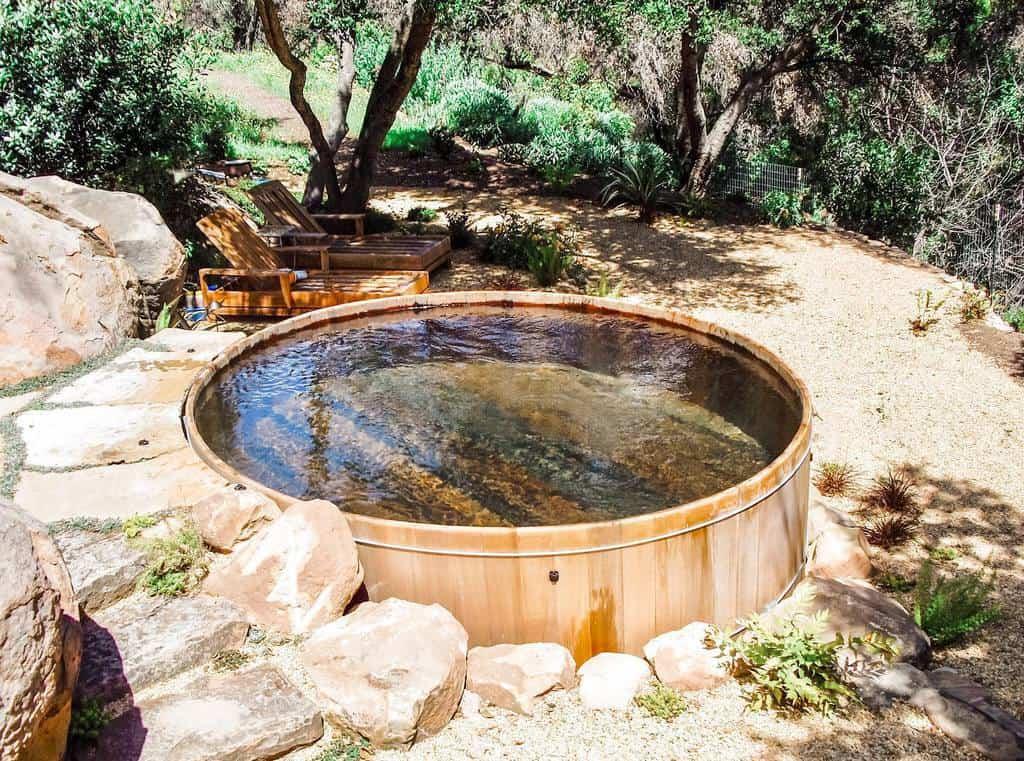 Rustic Small Pool Ideas -gordon_and_grant_sb