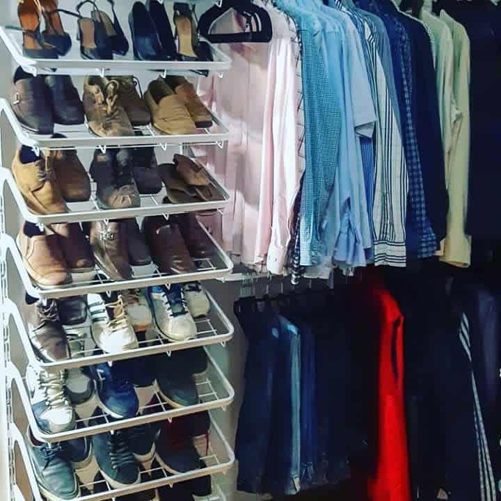 Shelf Clothes Storage Ideas -monterorganizadores