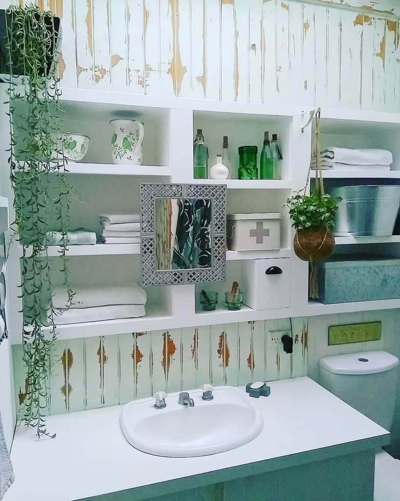 Shelves Over The Toilet Storage Ideas -bellwheeldesigns
